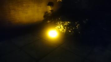 埋め込み式LED。ちょっと見えないかな?